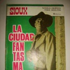 Tebeos: SIOUX NÚMERO 71. CONTRAPORTADA A COLOR DE CLAUDIA CARDINALE. (1966). Lote 32341340