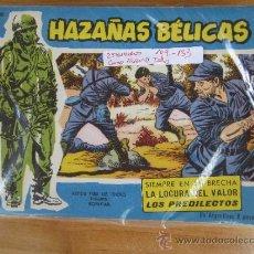 Tebeos: HAZAÑAS BELICAS , 6 NUMEROS DEL 111 AL 124 AZUL - TORAY -COMO NUEVOS, TAMBIEN SUELTOS. Lote 32381313