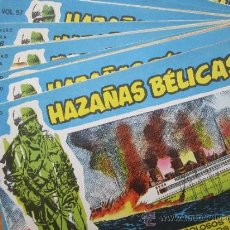 Tebeos: HAZAÑAS BELICAS 2 NUMEROS DEL 51 AL60 , TORAY COMO NUEVOS - SUELTOS TAMBIEN. Lote 32387662