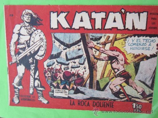 KATAN , NUMERO 19, ORIGINAL 1958 , EDICIONES TORAY (Tebeos y Comics - Toray - Katan)