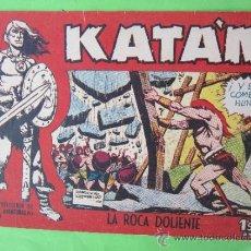 Tebeos: KATAN , NUMERO 19, ORIGINAL 1958 , EDICIONES TORAY. Lote 32447659