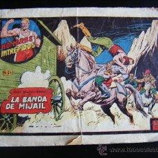 Tebeos: HOMBRES INTREPIDOS, Nº 21, YORIK BRAZO DE HIERRO EN LA BANDA DE MIJAIL, 1,5 PTS, EDICIONES TORAY.. Lote 32772451