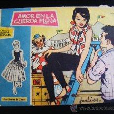 Tebeos: COLECCION ROSAS BLANCAS, AMOR EN LA CUERDA FLOJA, Nº 305. BIOGRAFIA LOUIS JOURDAN.. Lote 32773350