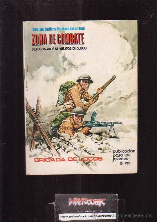 ZONA DE COMBATE Nº 3 -EDITA : TORAY (Tebeos y Comics - Toray - Otros)