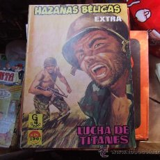Tebeos: HAZAÑAS BÉLICAS EXTRA Nº 18. LUCHA DE TITANES. EDICIONES G4.. Lote 32823727