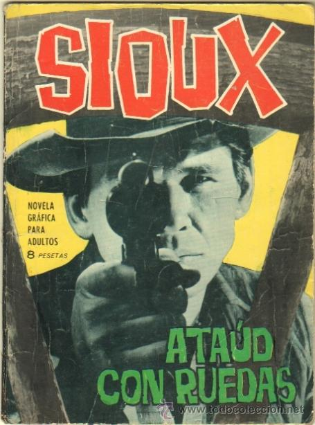SIOUX Nº 30 EDI. TORAY 1965 DIFICIL - FOTO MARTHA HYER EN CONTRAPORTADA (Tebeos y Comics - Toray - Sioux)