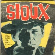 Tebeos: SIOUX Nº 30 EDI. TORAY 1965 DIFICIL - FOTO MARTHA HYER EN CONTRAPORTADA. Lote 32824172