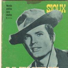 Tebeos: SIOUX Nº 62 EDI. TORAY 1966 - FOTO DE ROSSANA PODESTA EN CONTRAPORTADA. Lote 32824281