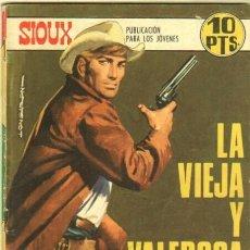 Tebeos: SIOUX Nº 116 EDI. TORAY 1968 - PORTADA DE LONGARON. Lote 32826612