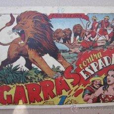 Tebeos: ZARPA DE LEON ,NUMERO 30 , GARRAS CONTRA ESPADAS , EDICIONES TORAY , ORIGINAL. Lote 32913603