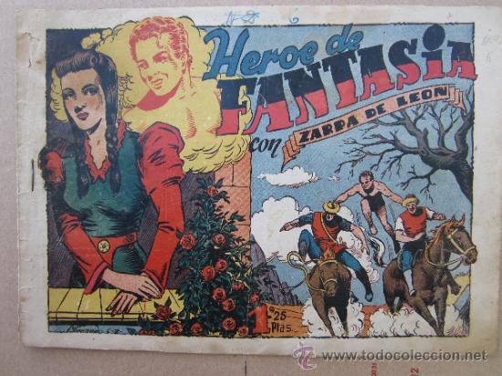 ZARPA DE LEON ,NUMERO 6 , HEROE DE FANTASIA , EDICIONES TORAY , ORIGINAL (Tebeos y Comics - Toray - Zarpa de León)