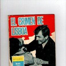 Tebeos: ESPIONAJE Nº 10 **EL CRIMEN DE LISBOA** TORAY. Lote 33071080