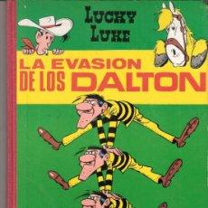 Tebeos: LUCKY LUKE.LA EVASIÓN DE LOS DALTON.EDICIONES TORAY,S.A. 1969.. Lote 33118022