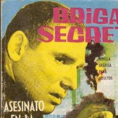 Tebeos: BRIGADA SECRETA - Nº 41 - ASESINATO EN LA NOCHE TRISTE - EDICIONES TORAY - 1964. Lote 33265606
