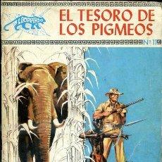 Tebeos: LEOPARDO Nº 11 - EL TESORO DE LOS PIGMEOS. Lote 33453448