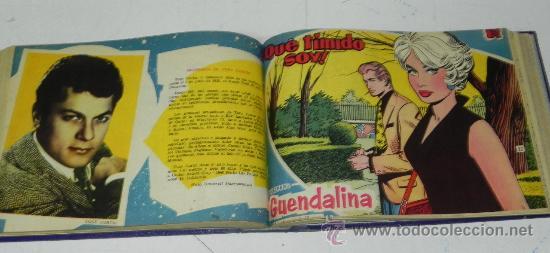 Tebeos: ANTIGUO LOTE DE 50 TEBEOS GUENDALINA ENCUADERNADOS,DESDE EL NUMERO 1 AL 50 AMBOS INCLUIDOS, TAL COMO - Foto 3 - 33698262