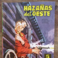 Tebeos: HAZAÑAS DEL OESTE , REVISTA PARA JOVENES , NUMERO 58 , EDICIONES TORAY 1959. Lote 33947290
