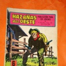 Tebeos: HAZAÑAS DEL OESTE Nº 227. JACK EL NEGRO, LA RECOMPENSA. EDITORIAL TORAY, 1970. +++. Lote 34072018