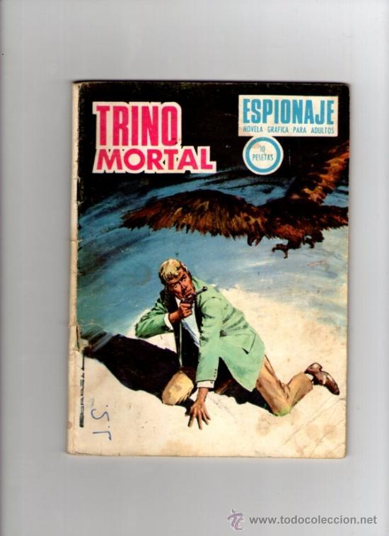 ESPIONAJE Nº 71 **TRINO MORTAL** TORAY (Tebeos y Comics - Toray - Espionaje)
