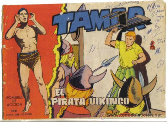 TAMAR Nº 104. EL PIRATA VIKINGO. TORAY (Tebeos y Comics - Toray - Tamar)