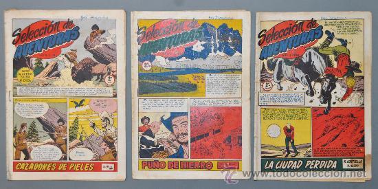 LOTE DE 3 SELECCION DE AVENTURAS. EDITORIAL TORAY ORIGINAL (Tebeos y Comics - Toray - Otros)
