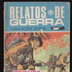 Tebeos: RELATOS DE GUERRA 184 – TRIBUTO A LA GLORIA – TORAY. Lote 34591782