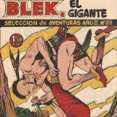Tebeos: BLEK EL GIGANTE, AÑO 1.956. Nº 92 - 94. ORIGINALES EDICIONES TORAY, S. A.,. Lote 62280215