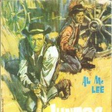 Tebeos: 1 ANTIGUA NOVELA DEL OESTE - AÑO 1964 - JUNTOS HACIA LA MUERTE ( AL MC LEE - RUTAS DEL OESTE. Lote 34636825