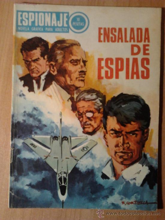 ENSALADA DE ESPIAS Nº 61 - ED. TORAY - AÑO 1967 (Tebeos y Comics - Toray - Espionaje)