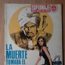 BDs: LA MUERTE TOMABA EL SOL Nº 66 - ED. TORAY - AÑO 1967. Lote 34651106