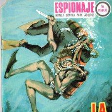 Comics - TORAY - ESPIONAJE Nº 60 - LA SERPIENTE DE MAR - 34861134