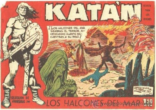 KATAN ORIGINAL Nº 46 EDI. TORAY 1958 BROCAL REMOHI - DIFICIL (Tebeos y Comics - Toray - Katan)