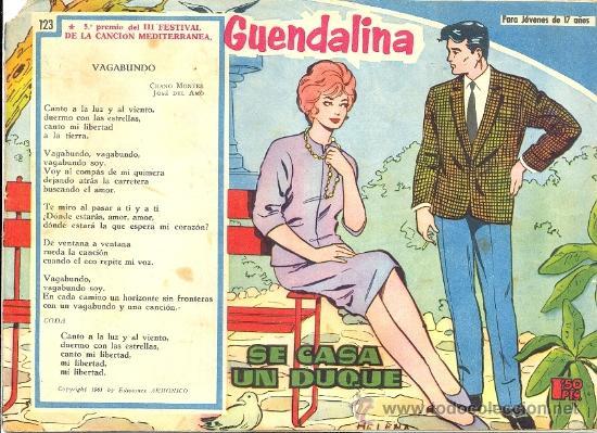 GUENDALINA Nº 123 (Tebeos y Comics - Toray - Guendalina)