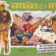 Tebeos: COMIC HAZAÑAS DEL OESTE Nº 8. Lote 35388301