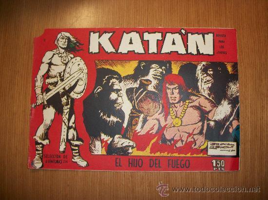 KATÁN Nº 11 EDITORIAL TORAY ORIGINAL (Tebeos y Comics - Toray - Katan)