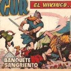 Tebeos: COMIC SIGUR EL WIKINGO Nº 17. Lote 36127764