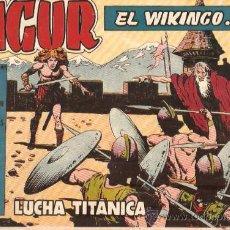 Tebeos: COMIC SIGUR EL WIKINGO Nº 23. Lote 36128207