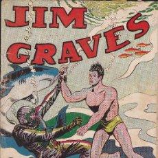 Tebeos: COMIC JIM GRAVES Nº 37. Lote 36129430