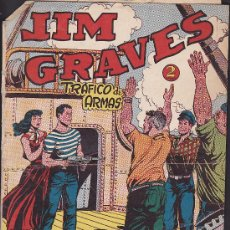 Tebeos: COMIC JIM GRAVES Nº 32. Lote 36129460