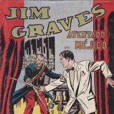 Tebeos: COMIC JIM GRAVES Nº 23. Lote 36129526
