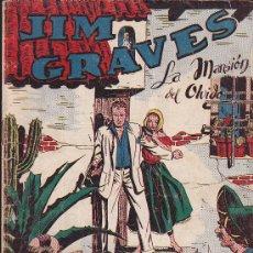 Tebeos: COMIC JIM GRAVES Nº 22. Lote 36129549