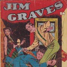Tebeos: COMIC JIM GRAVES Nº 10. Lote 36129654
