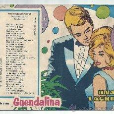 Tebeos: GUENDALINA 1960 Nº 120. Lote 36257158