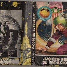 Tebeos: ESPACIO EL MUNDO FUTURO # 67 - TORAY 1957, H.S. THELS, VOCES EN EL ESPACIO - 126 PAG . Lote 36295663