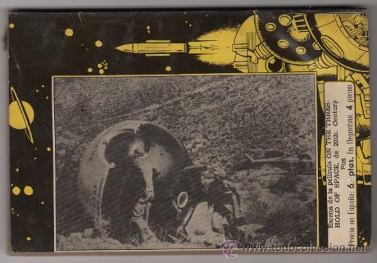 ESPACIO EL MUNDO FUTURO # 69 - TORAY 1957, RED ARTHUR, EL JUEGO DE LA MUERTE - 126 P (Tebeos y Comics - Toray - Mundo Futuro)