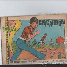Tebeos: AZUCENA PUBLICACION JUVENIL FEMENINA .CHICARRON.Nº 1165 . 1970. Lote 36338428