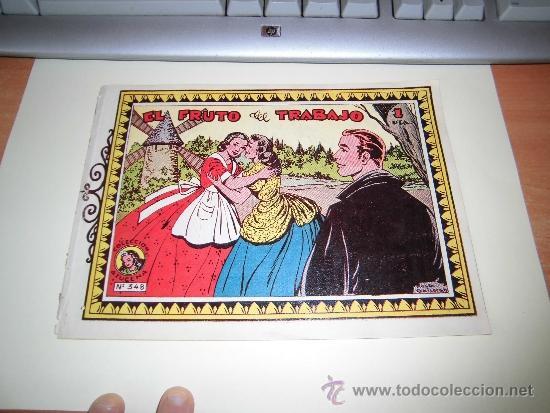 EL FRUTO DEL TRABAJO COLECCION AZUCENA Nº 348 EDICIONES TORAY (Tebeos y Comics - Toray - Azucena)