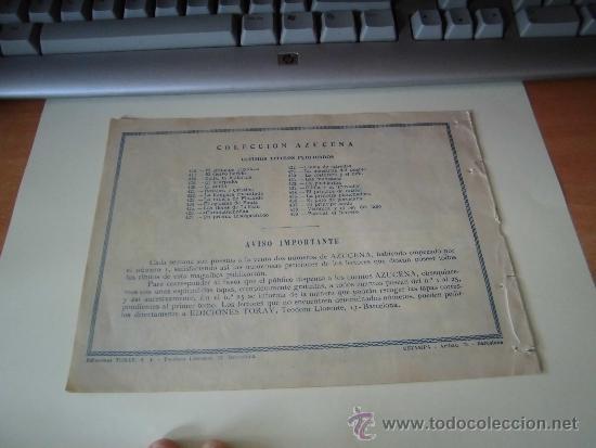 Tebeos: PASCUAL EL HERRERO COLECCION AZUCENA Nº 439 EDICIONES TORAY - Foto 2 - 36486373