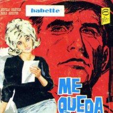 Tebeos: BABETTE S/N (VICTORIA RODOREDA/JOSE RUBIO/JORDI FRANCH) TORAY, 1966. Lote 36544344
