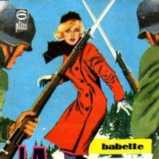 Tebeos: BABETTE Nº38 (VICTORIA RODOREDA/HELENA/JORDI NABAU) FOTOGRAFÍA ACTOR PETER O´TOOLE. Lote 36544631
